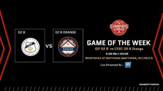 The @championsleaguenc Game of the Week returns this Saturday with another GREAT MATCHUP:   @idfsoccer 02 Boys vs. @charlotteeagles 02 Boys Orange!   Tune in Saturday at 2:00pm using the Game of the Week link in our bio!