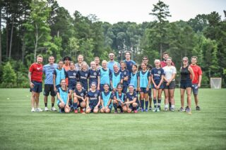 Learning is a constant process of discovery, a process without an end!   Huge thanks to all of the coaches and young players who took time out of their day to attended and learn from today's grassroots licensing course.   Thank you to @usclubsoccer and @ussoccer for allowing us to provide this opportunity.   #carolinachampionsleague #ussoccer #usclub #coachingeducation