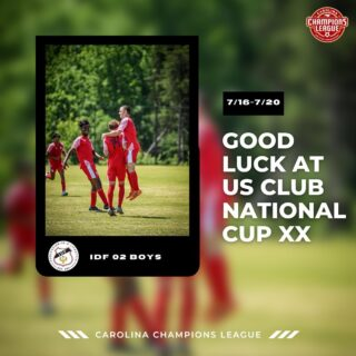 Safe travels and best of luck to @idfsoccer 02 boys as they head out to Colorado for @usclubsoccer National Cup XX!      #Soccer #Football #Carolina #ChampionsLeague #YouthSoccer  #USClub  #Development #DedicatedToDevelopment 